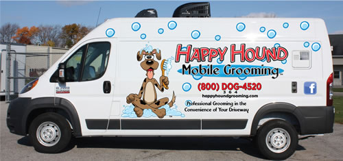 Fort Worth Dog Mobile Grooming Van